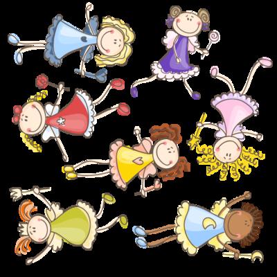 Adesivi cameretta bambini fate favole1 lipsiadesign - Adesivi bambini cameretta ...